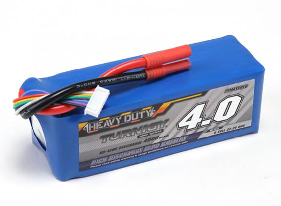 Turnigy Heavy Duty 4000mAh 6S 60C Lipo Confezione
