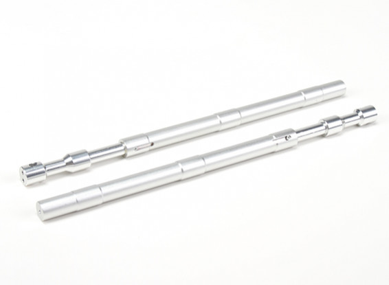 Lega diritta Oleo Struts 230 millimetri ~ 12.7mm (2 pezzi)