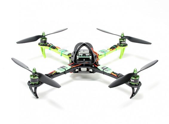 Turnigy SK450 Quadrirotore Powered By Multistar. La spina e la mosca Quadcopter Set (PNF)