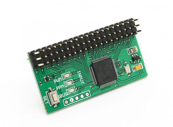 RMILEC ad alta precisione PWM / PPM / SBus convertitore di segnale V2