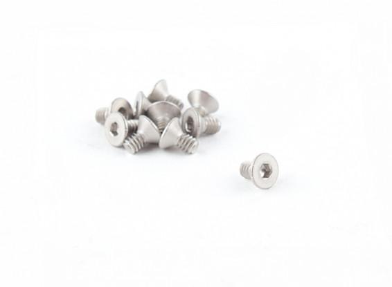 Titanium M2 x 4 esagono incassato Vite (10pcs / bag)