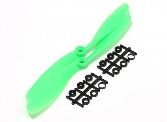 Turnigy Slowfly Elica 8x4.5 Verde (CCW) (2 pezzi)