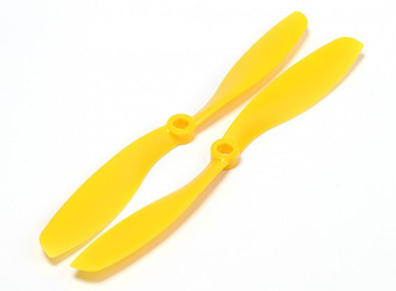 Turnigy Slowfly Elica 8x4.5 giallo (CW / CCW) (2 pezzi)