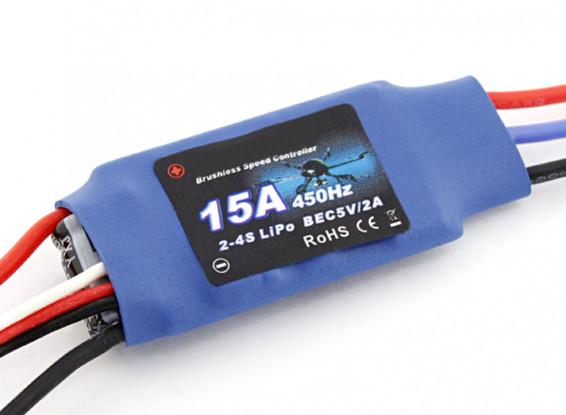 Flycolor 15 Amp multi-rotore ESC 2 ~ 4S con BEC