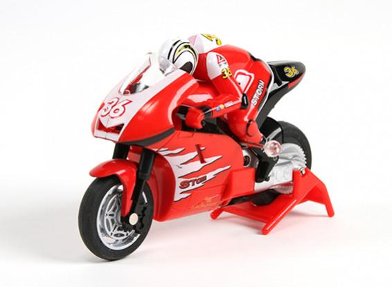 Allegro Micro Sport Bike 1/20 ° della scala del motociclo (RTR) (Red)