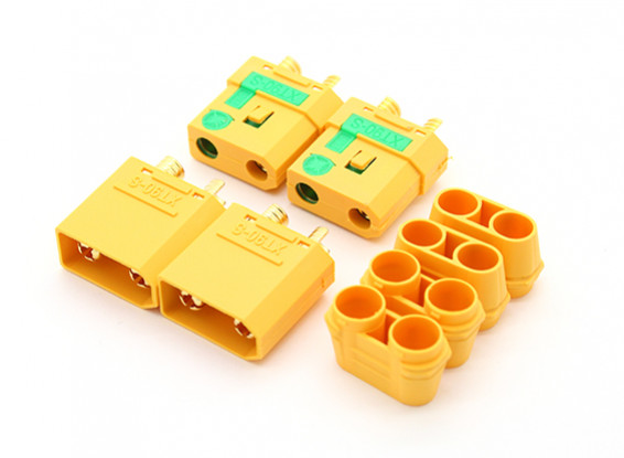XT90-S Anti-Spark Connector (2pairs / bag)