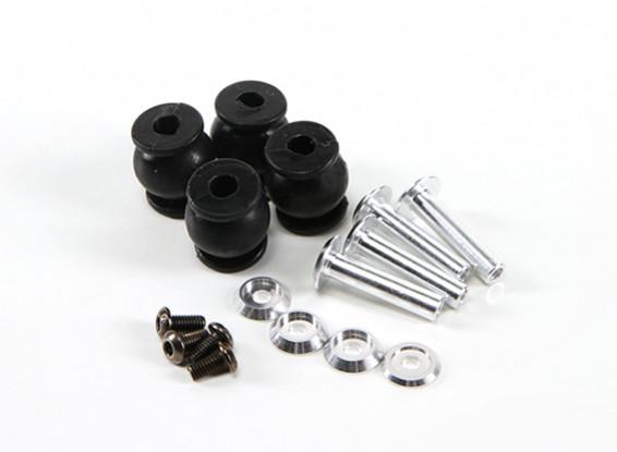stabilizzazione del giunto cardanico e la sicurezza montaggio in serie D9 4pcs / set