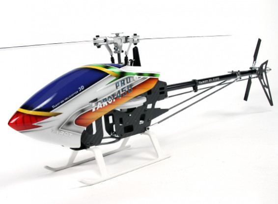 Tarocchi 450 PRO corredo dell'elicottero V2 DFC Flybarless (TL20006-argento)