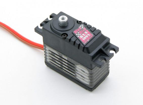 BLS-1004 ad alta tensione (7.4V) Brushless Digital Servo w / nanometri lega ingranaggi 9.7kg / .048sec / 66G