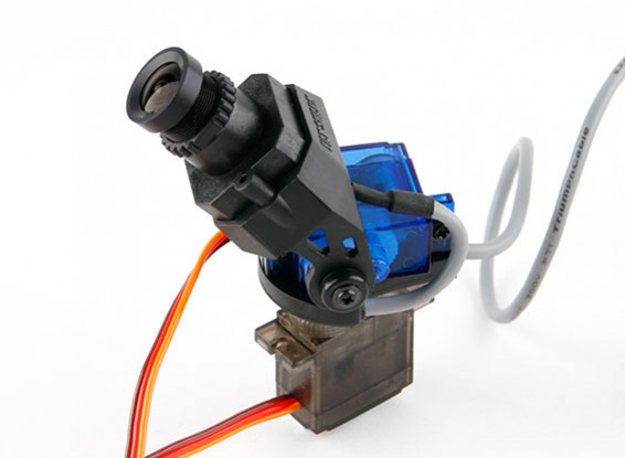 Camera Fatshark 600TVL alta risoluzione FPV Tuned Pan / Tilt CMOS (versione di aggiornamento)