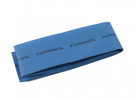 Turnigy termorestringenti Tubo 50mm x 1mtr (Blu)