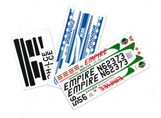 Dipartimento Funzione Pubblica ™ DC-3 1600 millimetri - Sticker Set