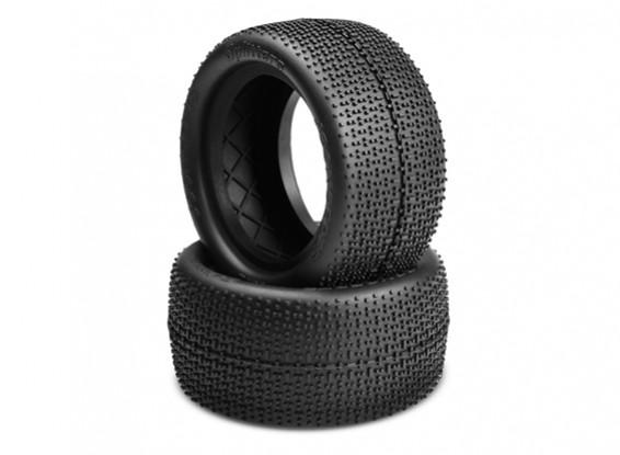 JCONCEPTS Splitters 1 Pneumatici / 10 Buggy posteriori - Black (Mega Soft) composti
