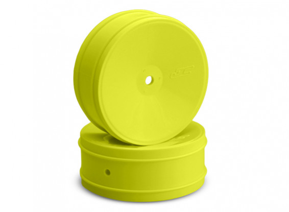 JCONCEPTS proiettile 1/10 ° Offroad 12 millimetri Hex Front Wheel - Giallo