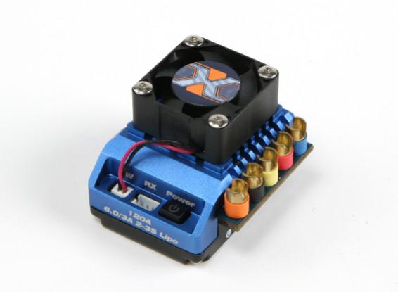 HobbyKing® ™ X-Car Bestia serie ESC Scala 1:10 PRO 120A