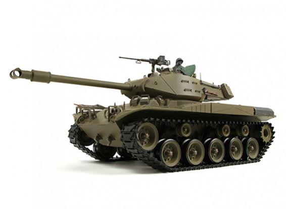 US-M41A3 Walker BullDog Luce RC serbatoio RTR w / Softair, Tx, Generator Sound & fumo (EU (Warehouse EU)