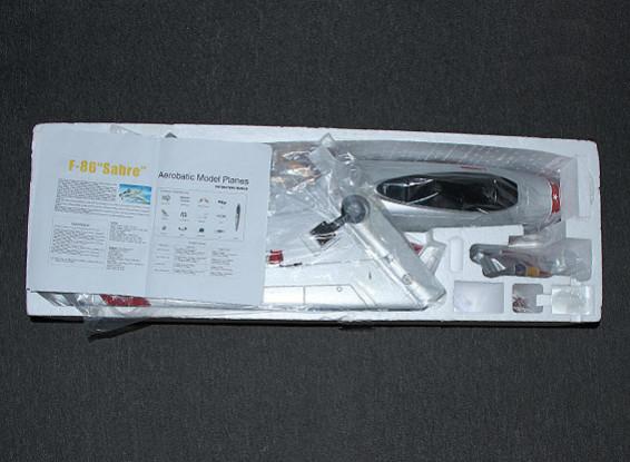SCRATCH / Ratti DENT F-86 Desert EDF Jet 70mm ritrae elettrici, flaps, Airbrake, EPO (PNF