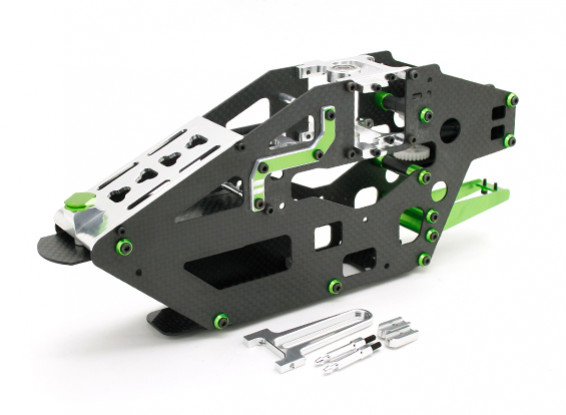 Assalto in elicottero 450L Flybarless 3D Assemblea Main Frame