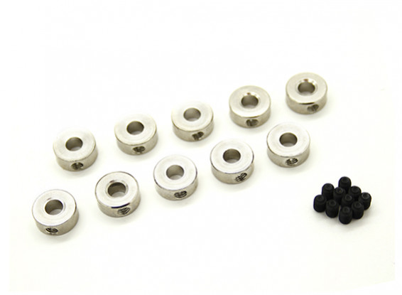 Landing Gear Wheel collare di arresto per l'asse 4mm (10pcs)