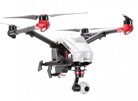 Walkera Voyager 3 GPS / FPV 1080P 60FPS Camera Quadcopter Con Devo F12E (RTF)