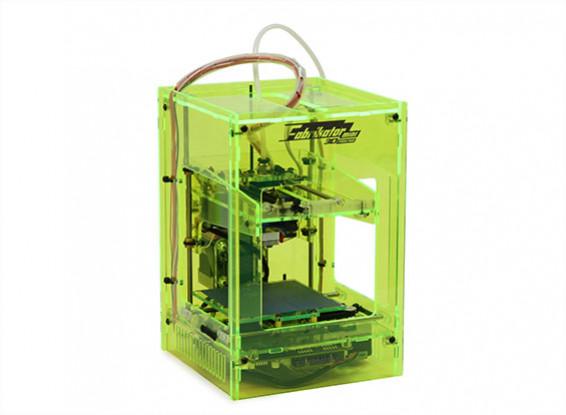 Stampante Fabrikator Mini 3D - Neon Verde - Regno Unito 230V -V1.5