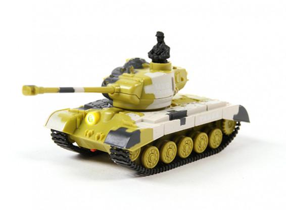 M-28 4 Funzione 2.4GHz mini RC del carro armato w / luce e suono