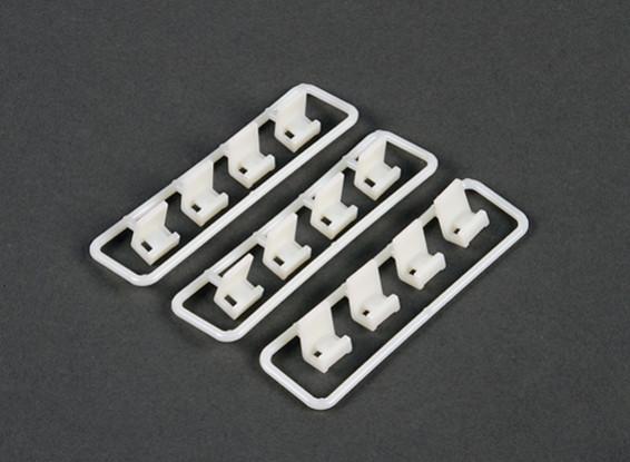 Cable Tie set di montaggio della clip (12 parti)