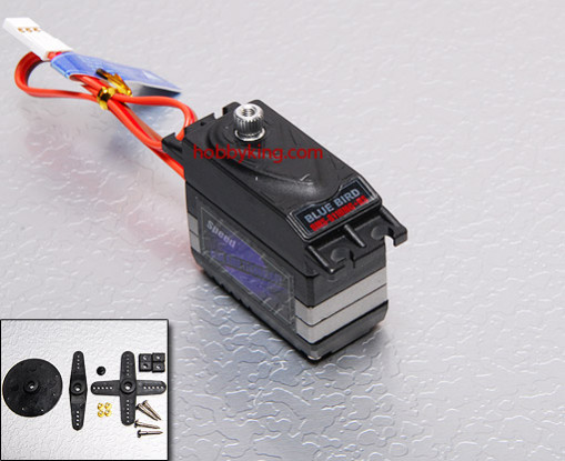 BMS-811DMGplusHS High Performance Digital Servo (Metal Gear) 5.0kg / .15sec / 45g