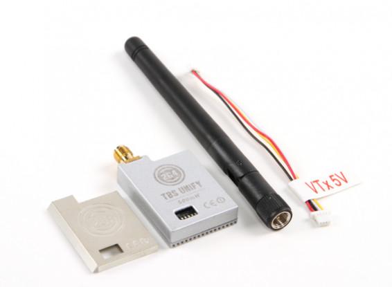 TBS Unificare 2G4 500mW 16CH A / V Trasmettitore