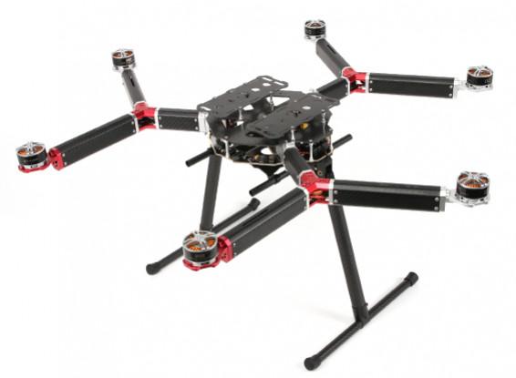 DYS D800 V-6 Professional multi-rotore fotografia aerea e piattaforma di sollevamento pesante (PNF)