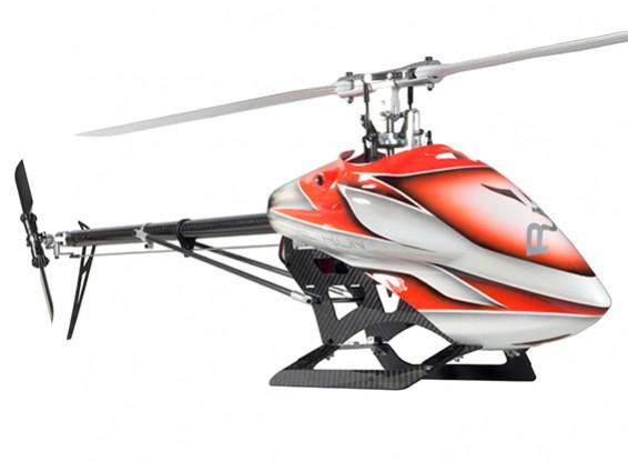 Corredo dell'elicottero RJX Vectron 520 Flybarless elettrico 3D (arancione)