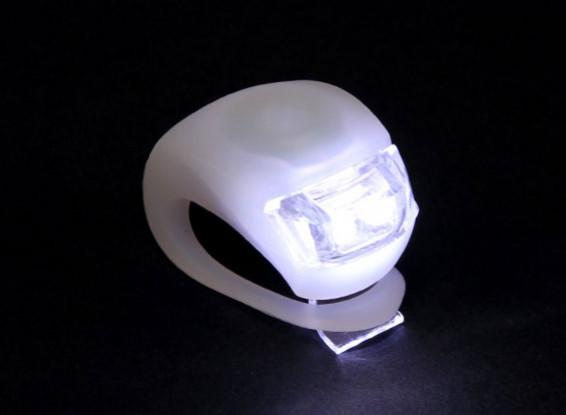 Bianco Silicon mini-lampada (LED bianco)