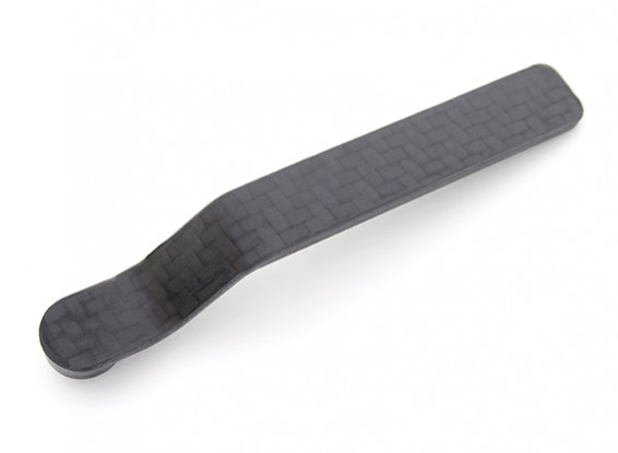 In fibra di carbonio Staffa ruotino di coda 20cc ~ 90x2.3x12mm 30cc