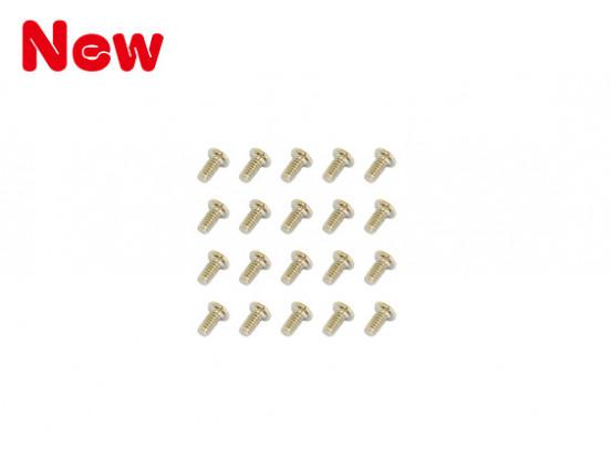 Gaui 100 e 200 Viti mechine (M1.4x3) X20pcs