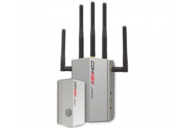 CONNEX Wireless 5.1-5.8 Ghz FPV sistema HD Video trasmettitore / ricevitore (FCC approvato)