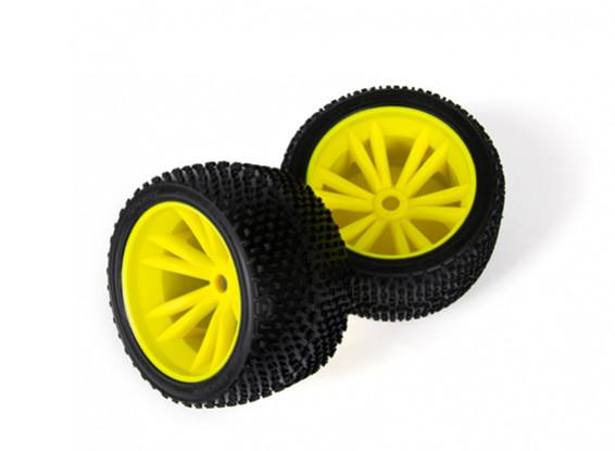 set di ruote (giallo)