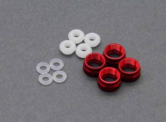 Trackstar Shock coperchio inferiore Set con O-Ring S120052