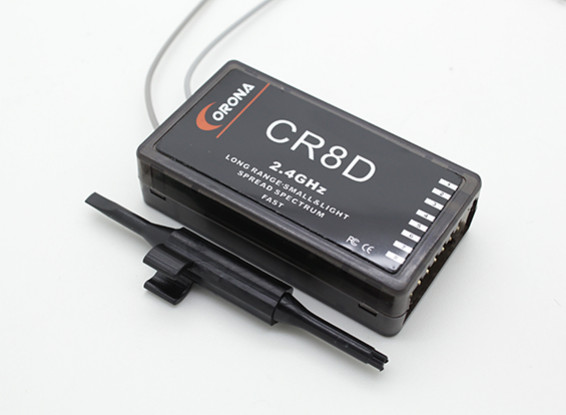 Corona 2.4Ghz Ricevitore 8ch (V2 DSSS)