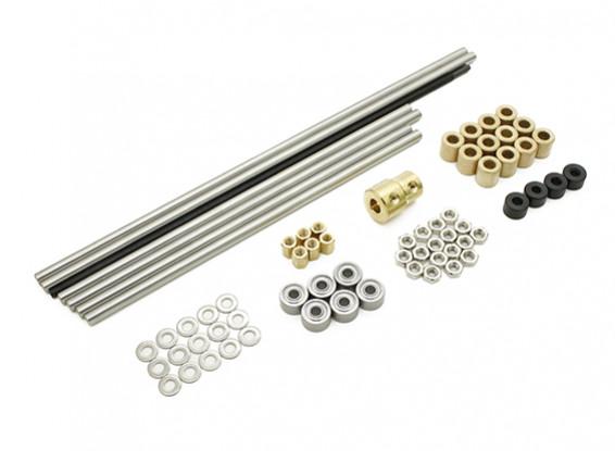 Turnigy Mini Fabrikator stampante 3D v1.0 Ricambi - Metal Set 1