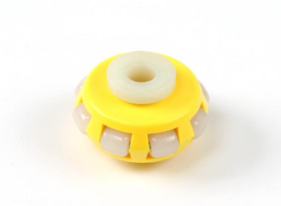 GD-03AT omnidirezionale singolo 40 millimetri ruote strato Robot / 10kg circolare Fitting