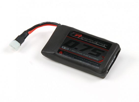 Turnigy grafene 750mAh 1S Lipo pacchetto w / 2pin Molex Connector