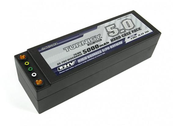 Turnigy LiHV 5000mAh 15.2V 35C 4S Hardcase Confezione