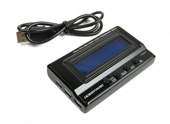 Hobbywing LCD multifunzione Box Programma