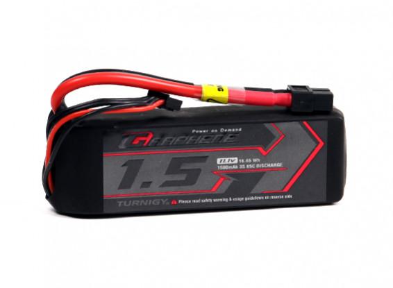 Turnigy grafene 1500mAh 3S 65C LiPo pacchetto w / XT60