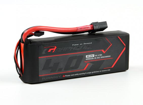 Turnigy grafene 4000mAh 3S 45C Lipo del pacchetto w / XT90