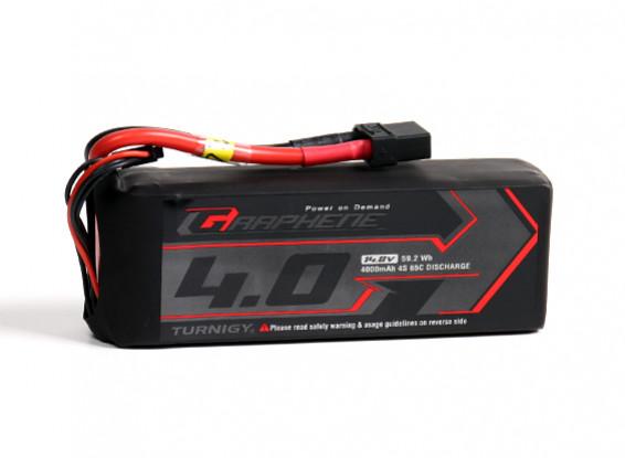 Turnigy grafene 4000mAh 3S 65C Lipo del pacchetto w / XT90