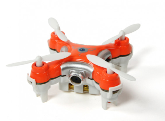 CX-10C Nano Quadcopter con videocamera incorporata 0.3MP RTF 2.4GHz (Red) (Modalità 2 Tx)
