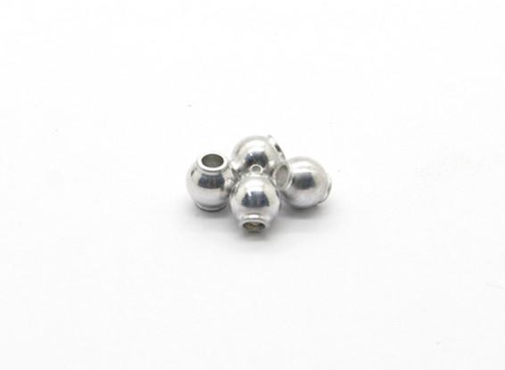 Estremità della sfera F (4 pezzi) - Basher Rocksta 1/24 4WS Mini Rock Crawler