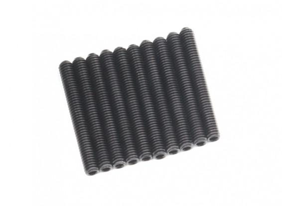 Metallo Grub vite M4x32-10pcs / set