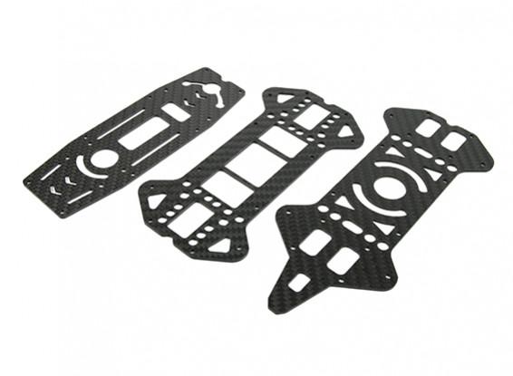 Jumper 218 Pro superiore e inferiore ponti (fibra di carbonio) (3pcs)